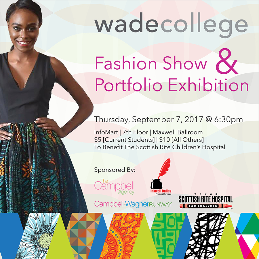 Wade College Fashion Show