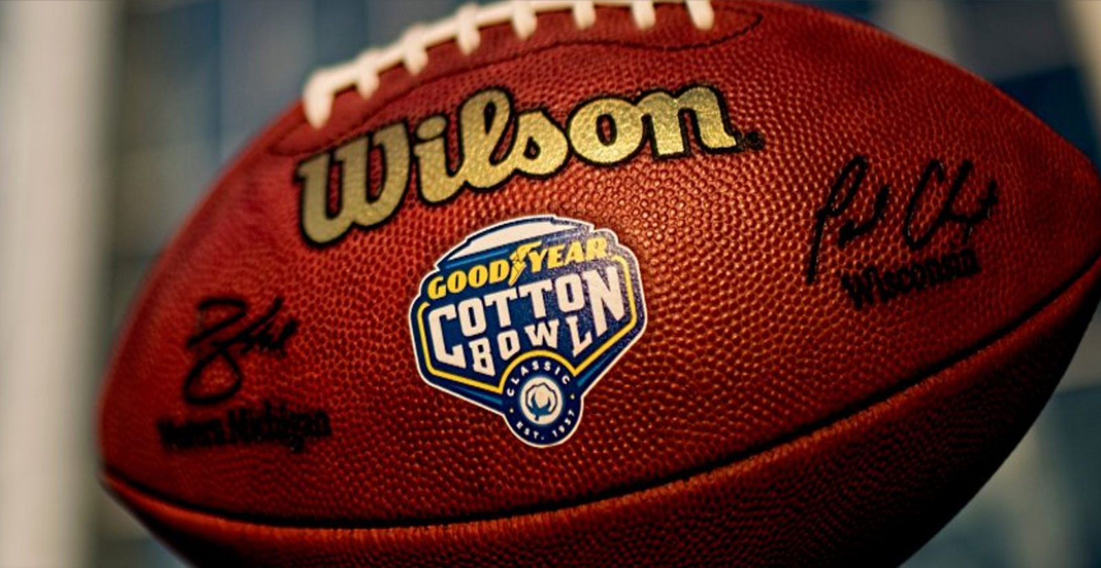 Goodyear Cotton Bowl Classic Visit