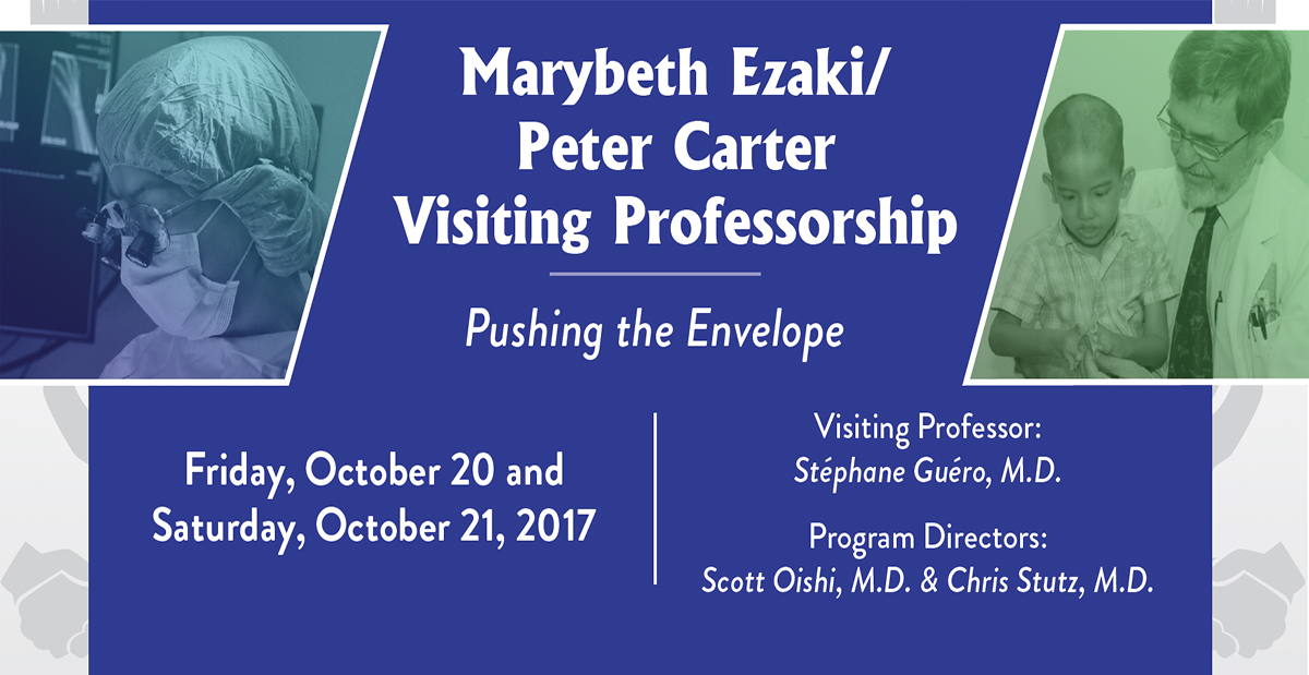 Marybeth Ezaki/Peter Carter Visiting Professorship