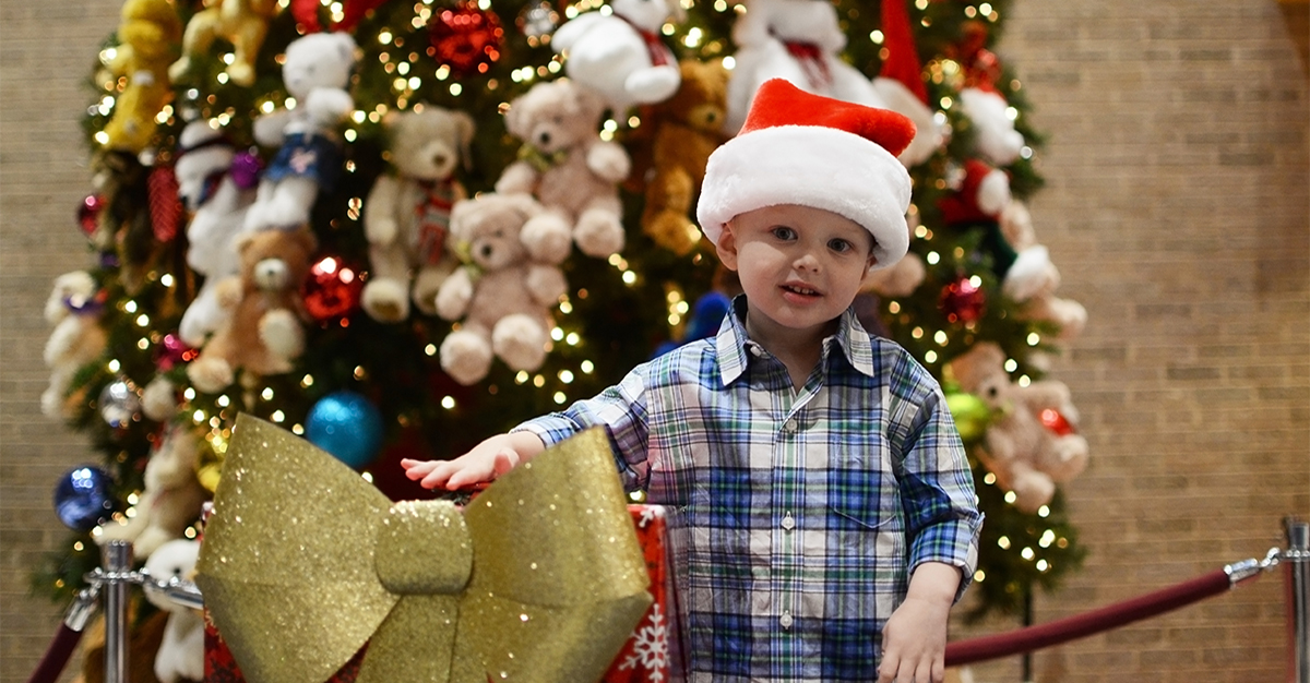 Holiday Tree Lighting event benefiting Texas Scottish Rite Hospital for Children