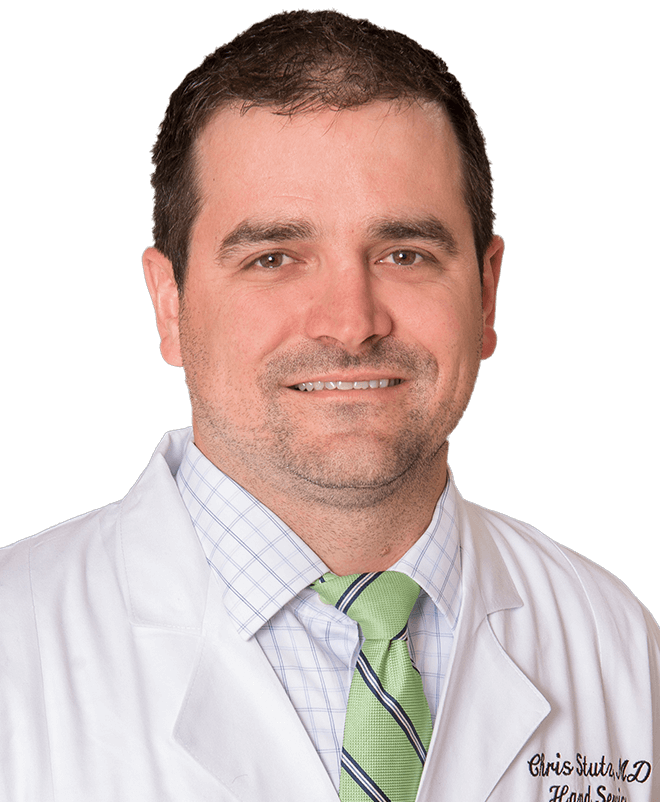 Chris Stutz, M.D., Staff Hand Surgeon at Scottish Rite for Children
