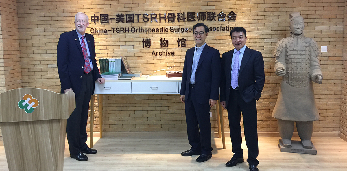 Scottish Rite Hospital staff attending the China-TSRH Orthopedic Surgeons Association meeting.