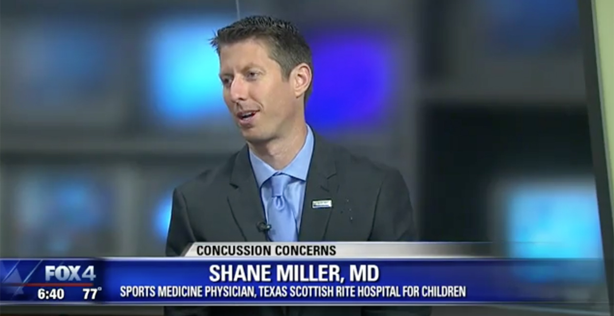 Dr Miller on FOX 4