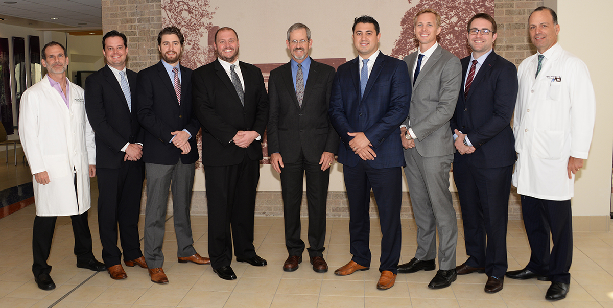 Orthopedic staff, graduating residents and visiting professor at the Charles F. Gregory Memorial Lectureship.