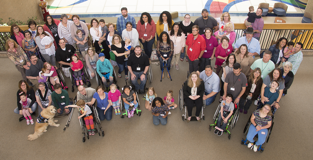 HSP attendees come together for a photo at the hospital.