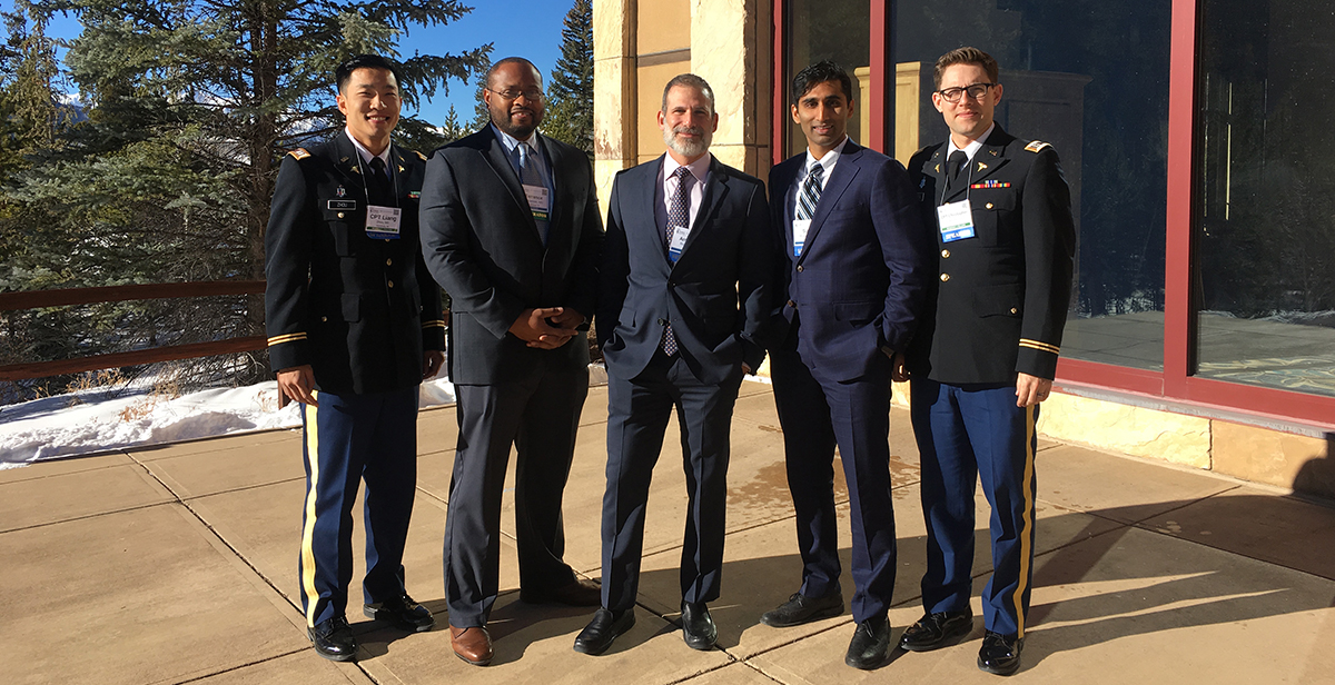 Hospital doctors and past trainees presenting at SOMOS 2018.
