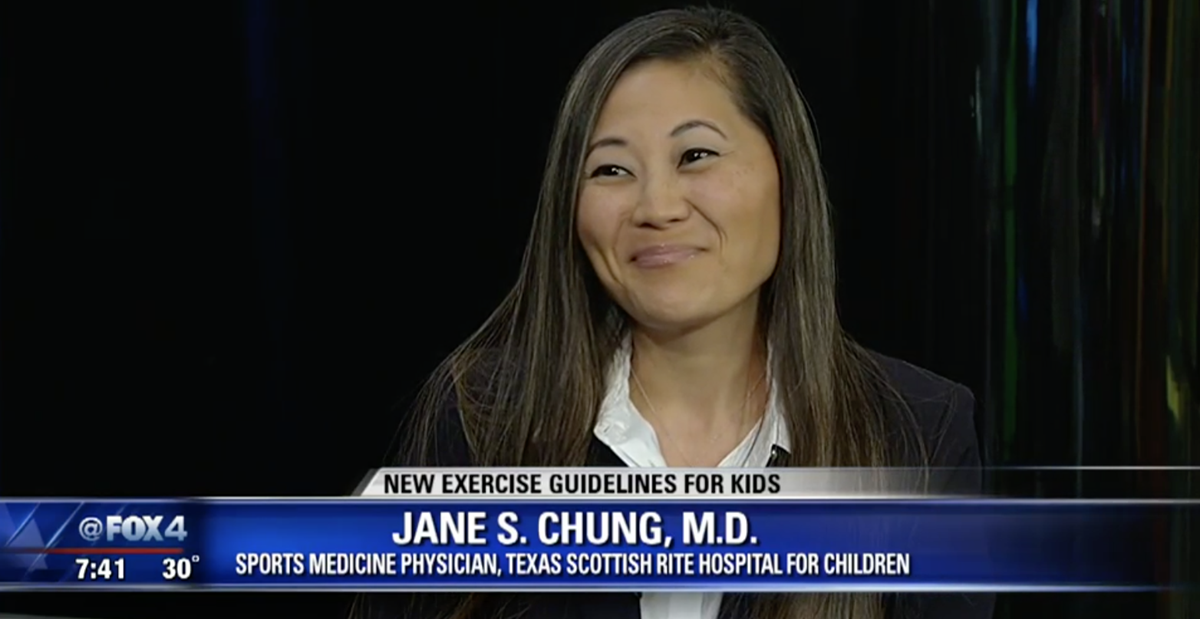 Jane S. Chung, M.D. discusses the recent exercise guidelines.