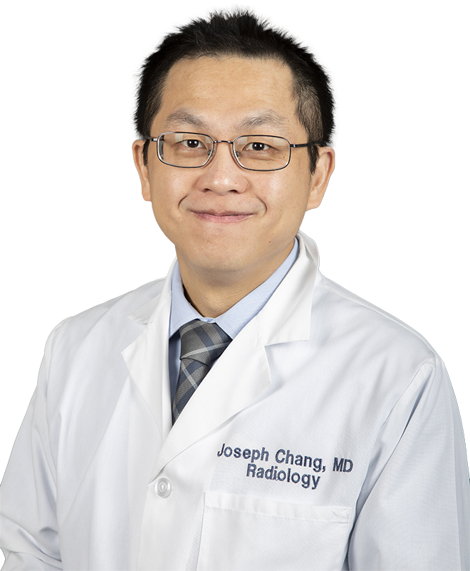 Joseph Chang, M.D., Staff Radiologist at Scottish Rite for Children