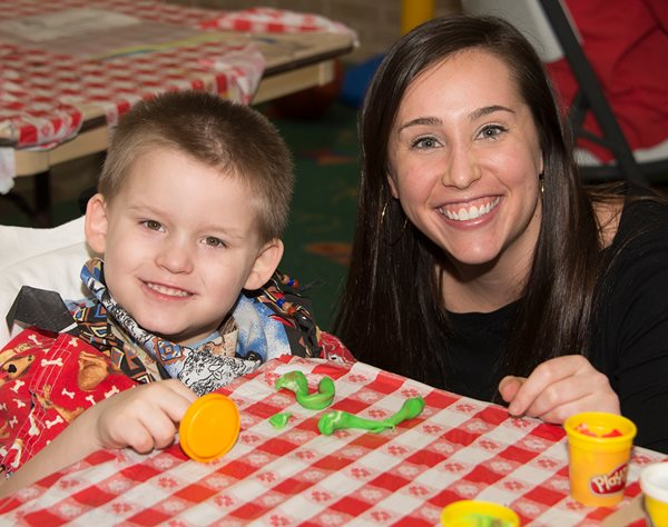 Get involved at Texas Scottish Rite Hospital for Children with Crayon Club