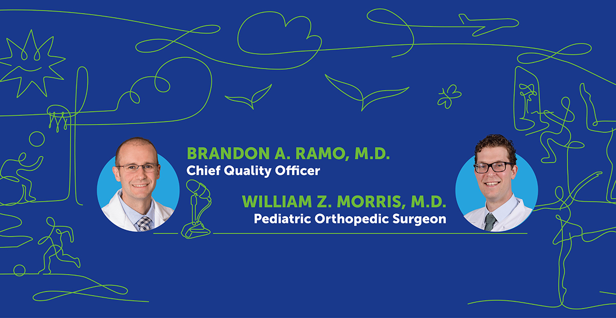 Dr. Brandon Ramo and Dr. William Morris