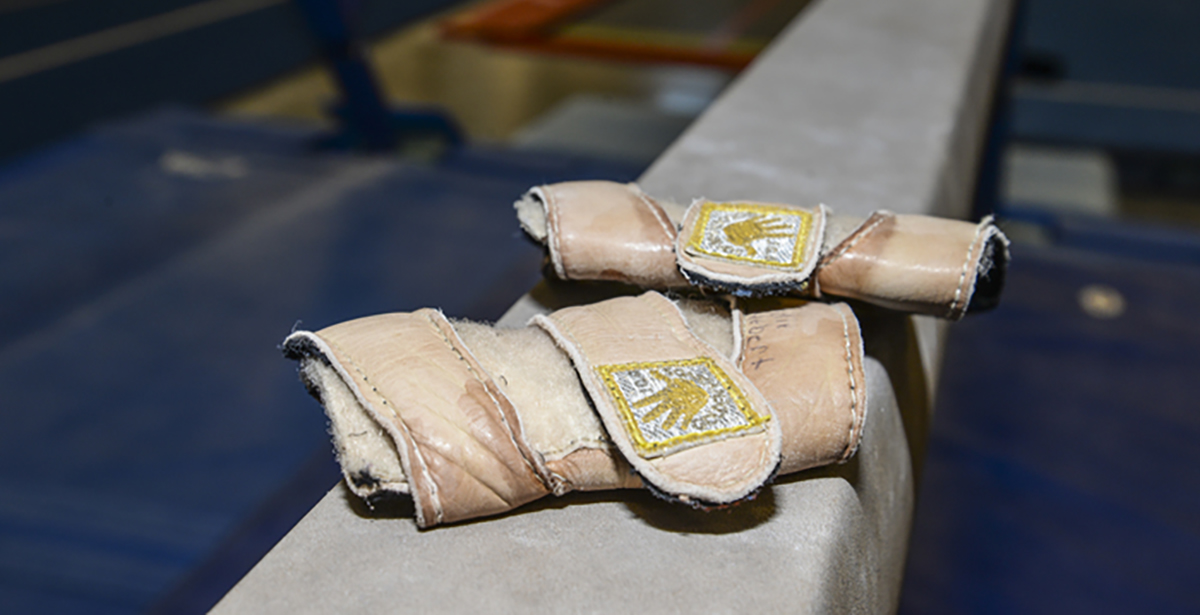 gymnastics wrist guards