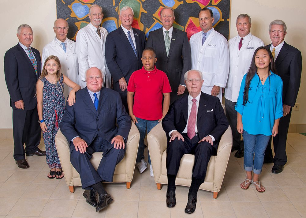 Texas Scottish Rite Hospital for Children board of trustees, doctors and patients