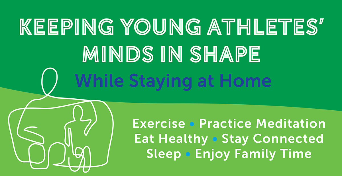 Keeping Young Athletes' Minds in Shape graphic