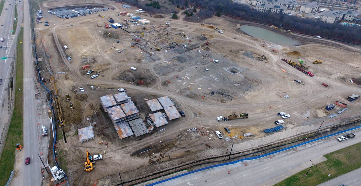 Building site of North Campus