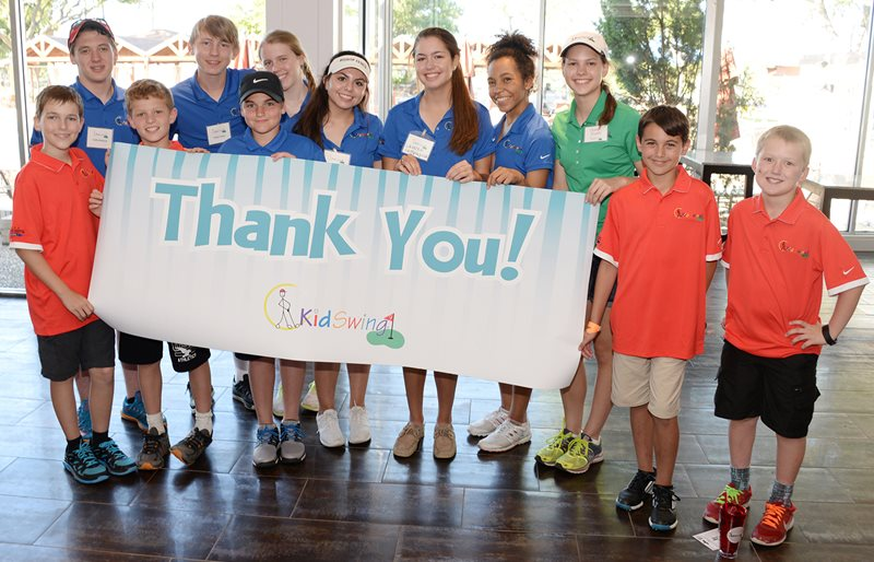 KidSwing golf tournament benefiting Texas Scottish Rite for Children