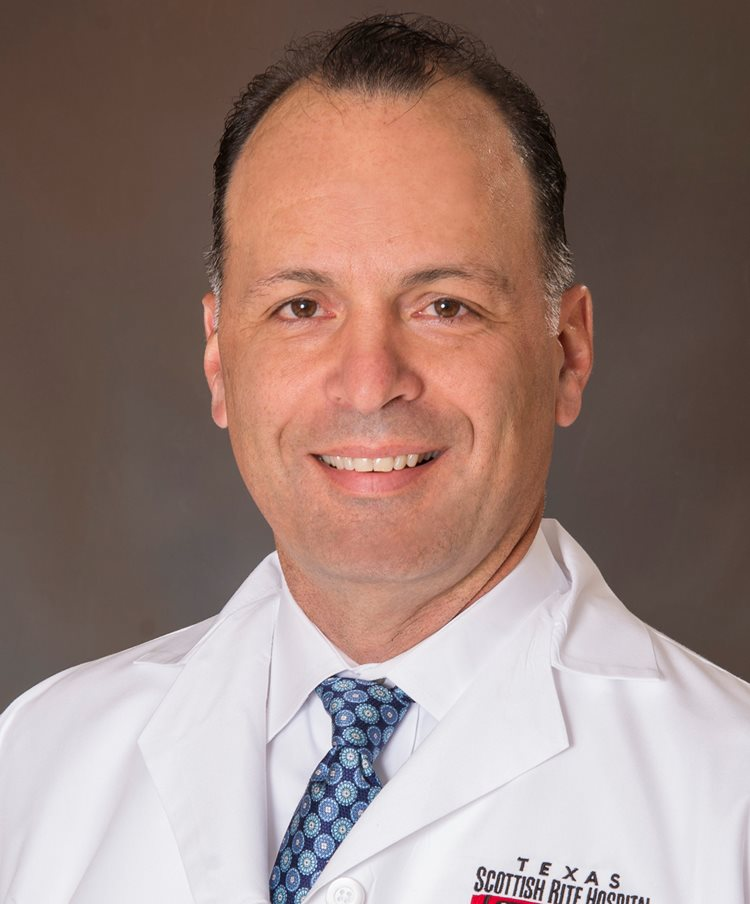 Daniel J. Sucato, M.D., M.S., Chief of Staff at Texas Scottish Rite Hospital for Children
