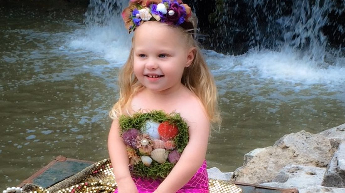 Mermaid Dreams – Sophia's Story - Scottish Rite Hospital