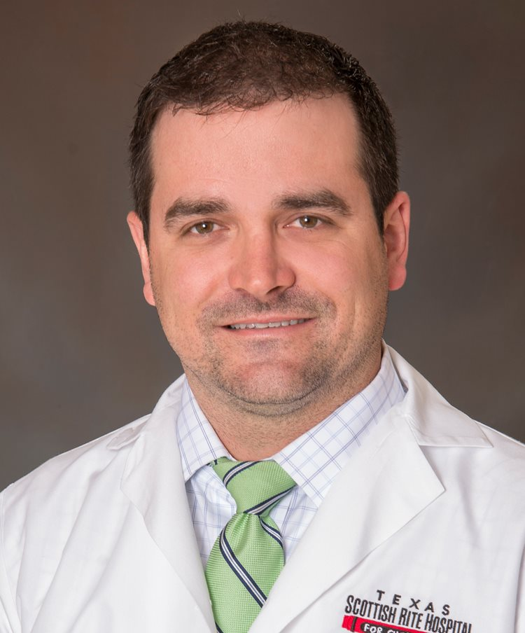 ChrisStutz, M.D., Staff Hand Surgeon at Scottish Rite for Children