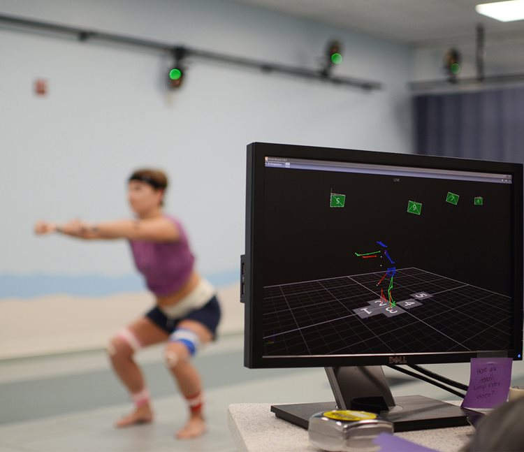 Texas Scottish Rite Hospital for Children's Movement Science Laboratory using 3D motion-capture technology