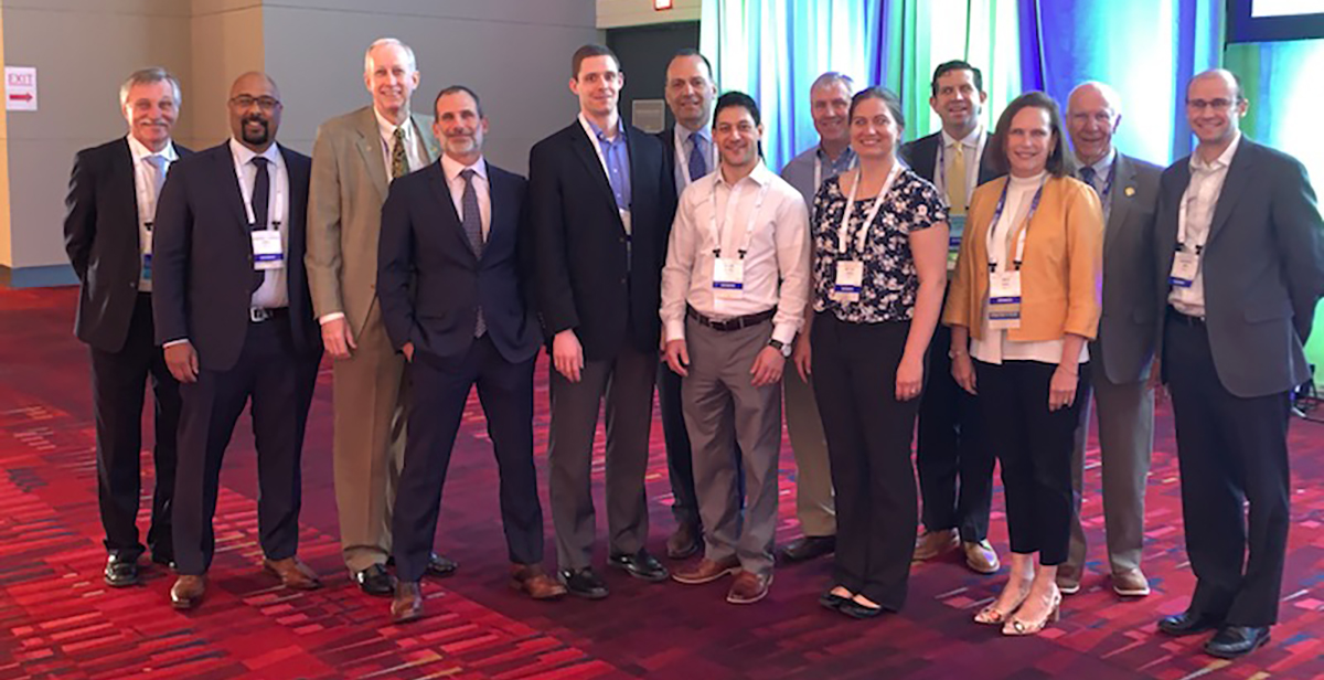 Medical staff at 2019 POSNA meeting