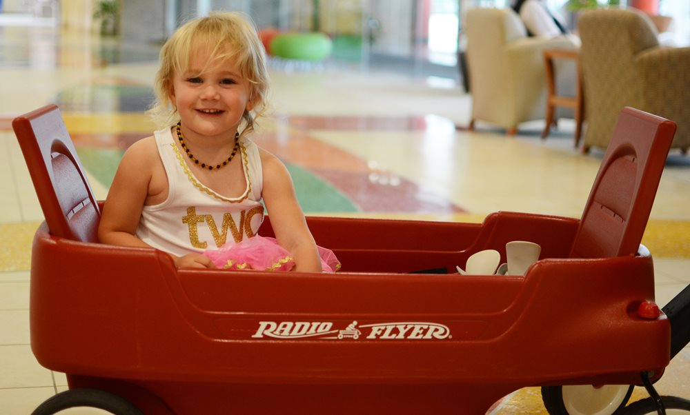Texas Scottish Rite Hospital for Children patient smiling