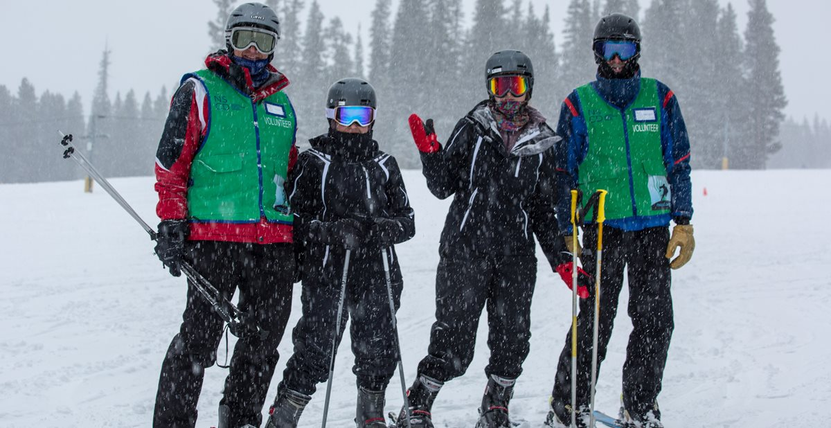 Scottish Rite Patients learn to ski in Colorado