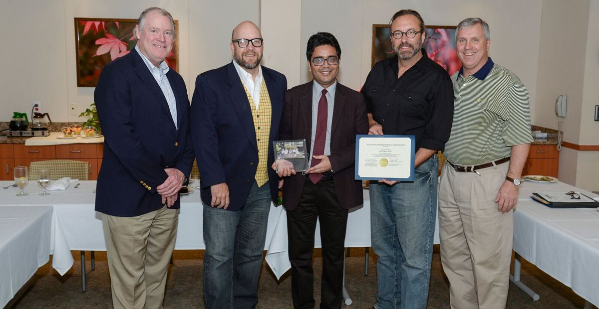 Doctors receive award for educating medical professionals