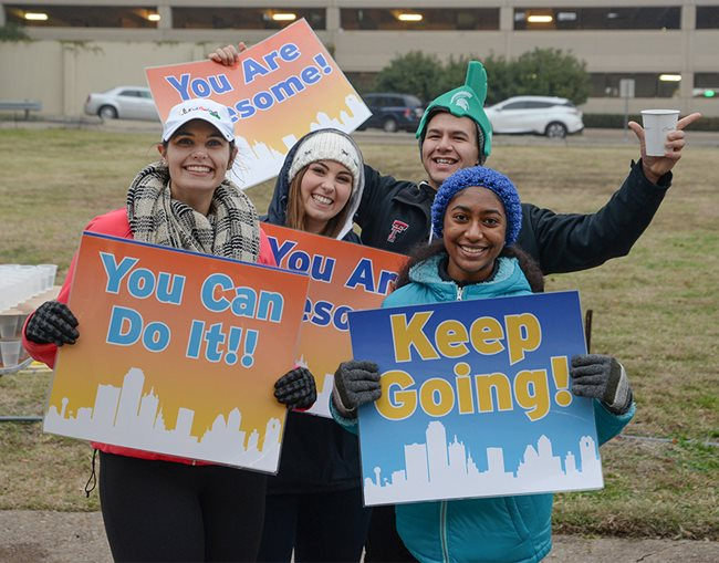 Dallas Marathon benefiting Texas Scottish Rite Hospital for Children