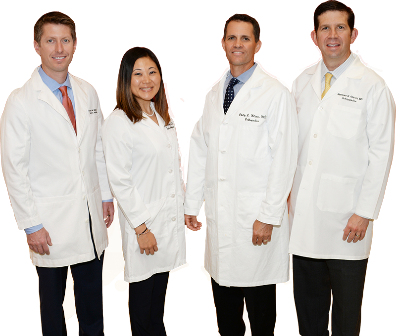 Pediatric orthopedic specialists at the Center for Excellence in Sports Medicine at Texas Scottish Rite Hospital for Children